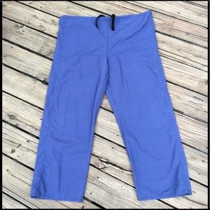 Medical Scrubs Pants Angelica Size Large Blue